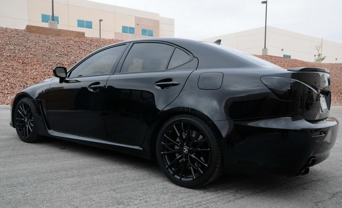 Curb Rash Color Change Lexus